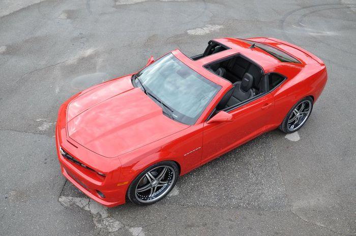 Chevrolet Camaro обзавелся кабриолетом (3 фото)