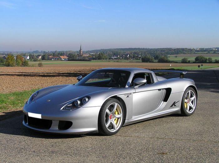 Porsche Carrera GT от тюнинг ателье Kubatech (7 фото)