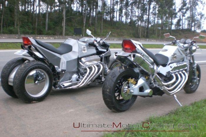 Мотоциклы для будущего! (2 фото+видео)