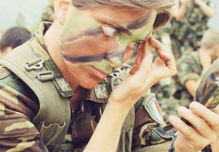 Военный камуфляж и маскировка (25 фото)