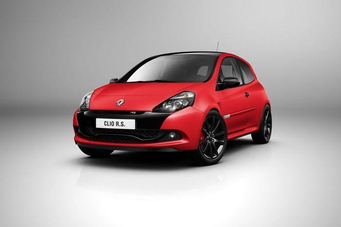 Компания Renault представила заряженный Clio RS (12 фото)