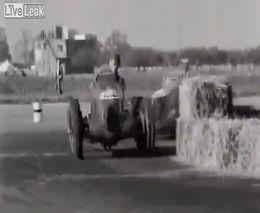 Подборка аварий на гонках прошлого века