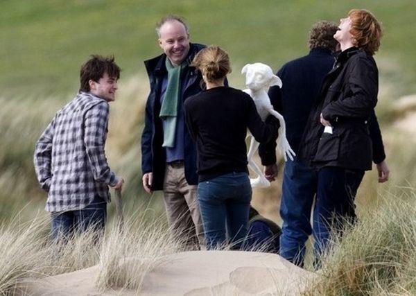 Фото со съемок: Гарри Поттер и Дары смерти (50 фото)