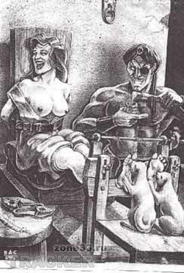 ролик истязания половых органов