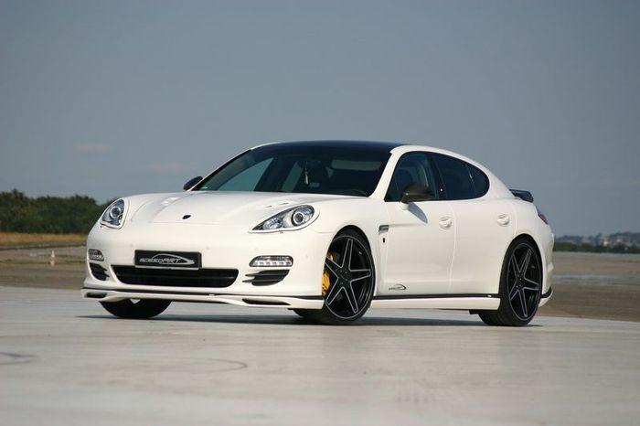Дизельный Porsche Panamera в тюнинге от ателье speedART (5 фото)