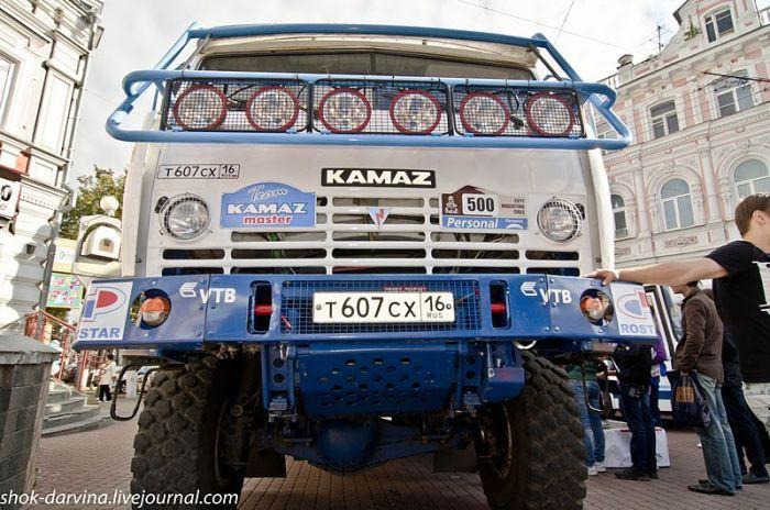 Интерьер грузовика команды КАМАЗ-Мастер (18 фото+видео)