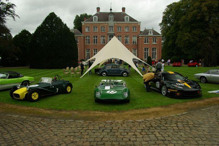 Antwerp Concours D-Elegance 2011 в Германии (126 фото)