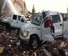 Живучий Ford F150 после катастрофы