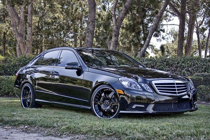 Mercedes-Benz E350 от тюнеров из Hess Motorsports (4 фото)