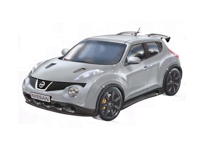 Nissan Juke-R с мотором от GT-R (6 фото+2 видео)