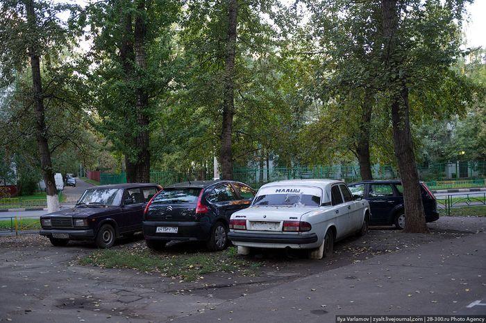 Потемкинские парковки (19 фото)
