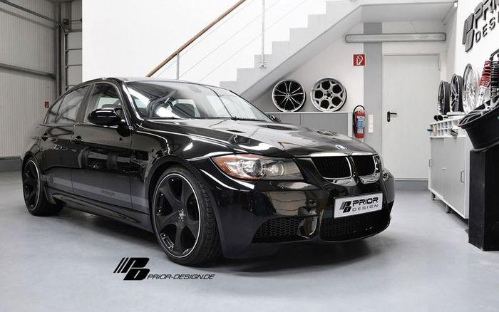 Обвес для E90 BMW 3-Series от Prior Design (15 фото)