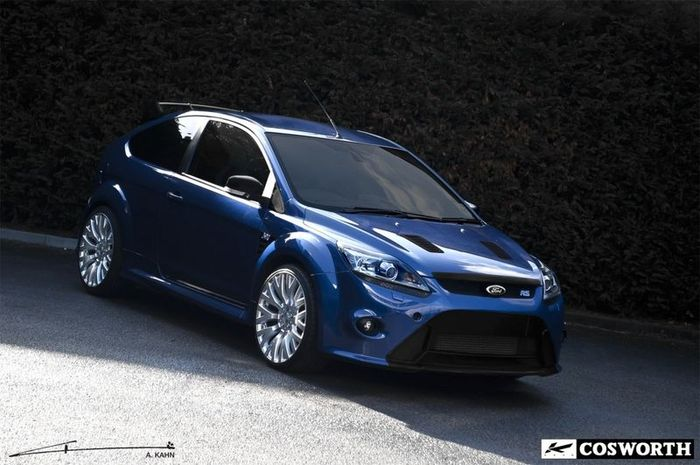 Ford Focus RS от тюнинг-ателье Project Kahn (4 фото)