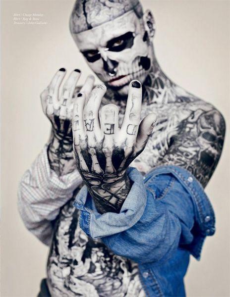 Зомби-бой в журнале Schon (12 фото)