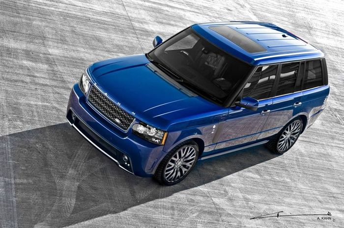 Range Rover Bali Blue RS450 от Project Kahn (4 фото)