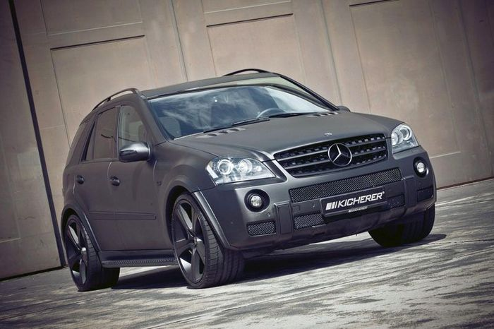 Mercedes ML63 AMG от Kicherer из Carbon Series (6 фото)