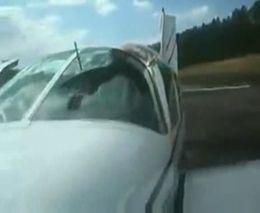 Последствия столкновения самолета с птичкой