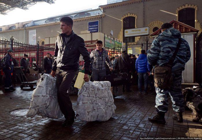 Москва-Душанбе (17 фото)
