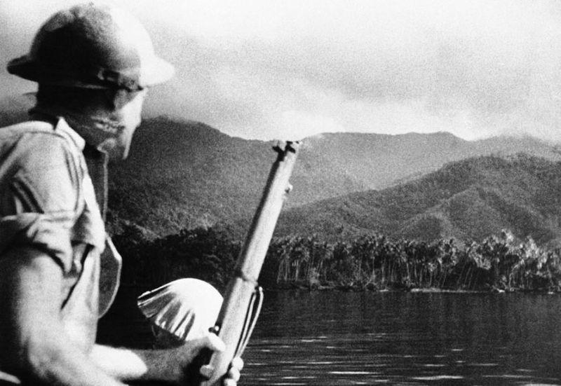 Вторая мировая - Тихоокеанский театр военных действий (45 фотографий), photo:7
