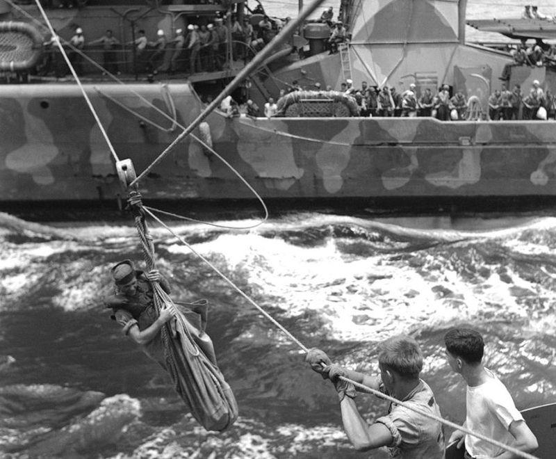Вторая мировая - Тихоокеанский театр военных действий (45 фотографий), photo:10