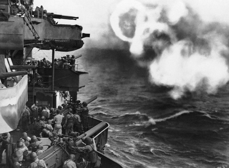 Вторая мировая - Тихоокеанский театр военных действий (45 фотографий), photo:13