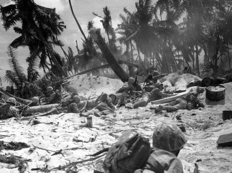 Вторая мировая - Тихоокеанский театр военных действий (45 фотографий), photo:16