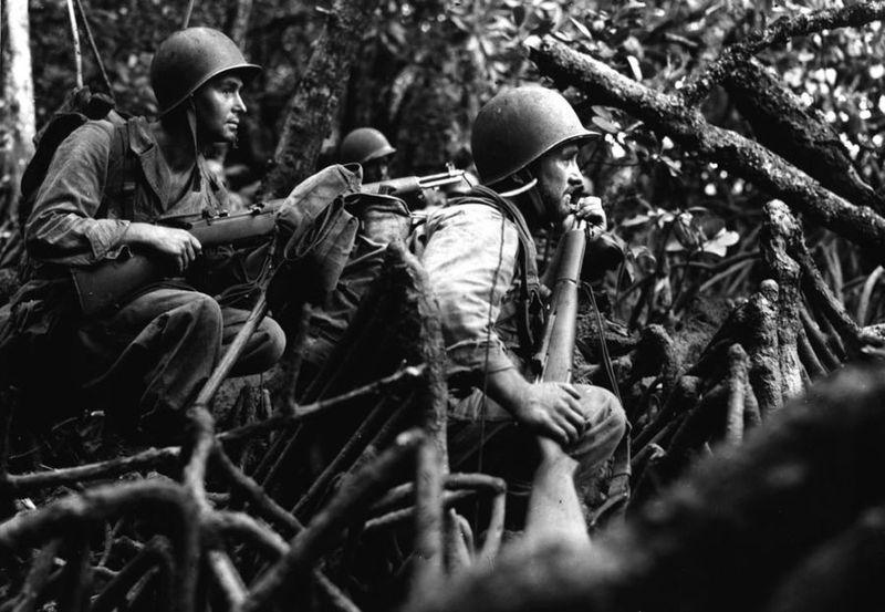 Вторая мировая - Тихоокеанский театр военных действий (45 фотографий), photo:17