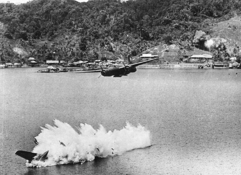 Вторая мировая - Тихоокеанский театр военных действий (45 фотографий), photo:18