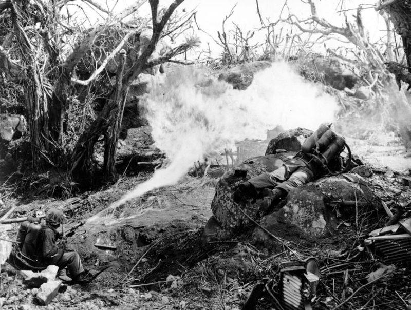 Вторая мировая - Тихоокеанский театр военных действий (45 фотографий), photo:20