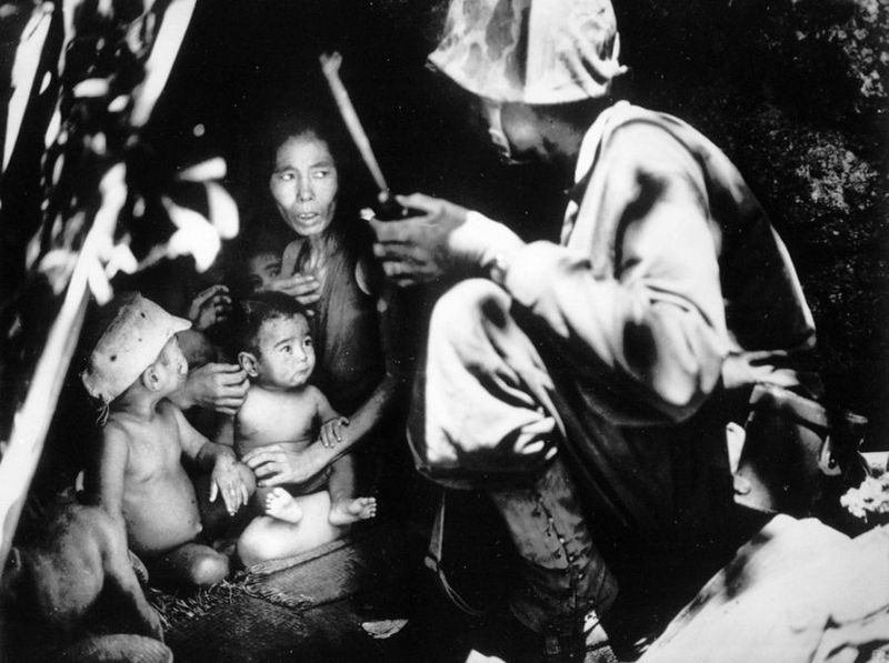 Вторая мировая - Тихоокеанский театр военных действий (45 фотографий), photo:21