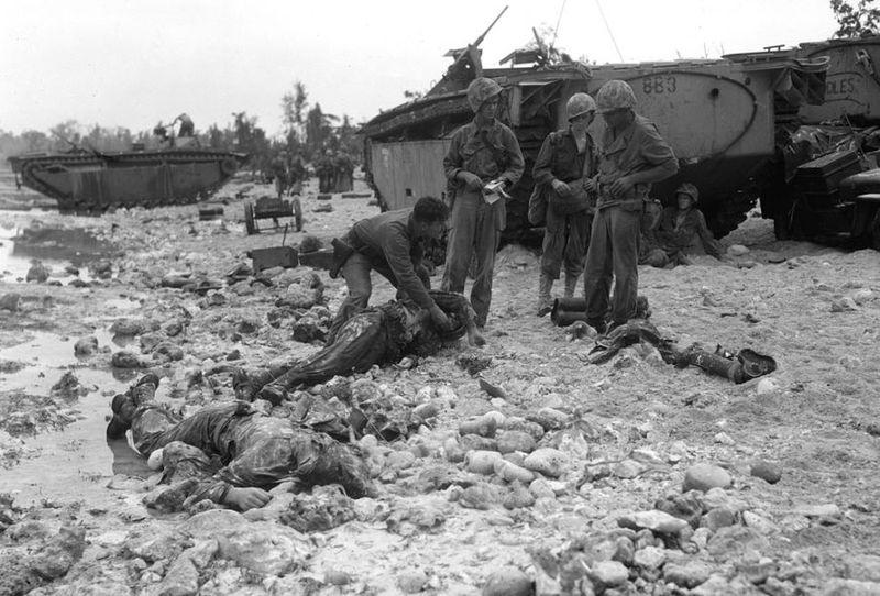 Вторая мировая - Тихоокеанский театр военных действий (45 фотографий), photo:26