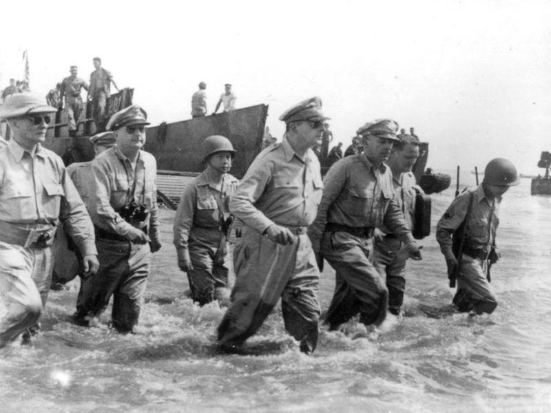 Вторая мировая - Тихоокеанский театр военных действий (45 фотографий), photo:28