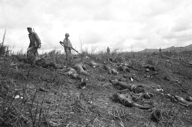Вторая мировая - Тихоокеанский театр военных действий (45 фотографий), photo:29