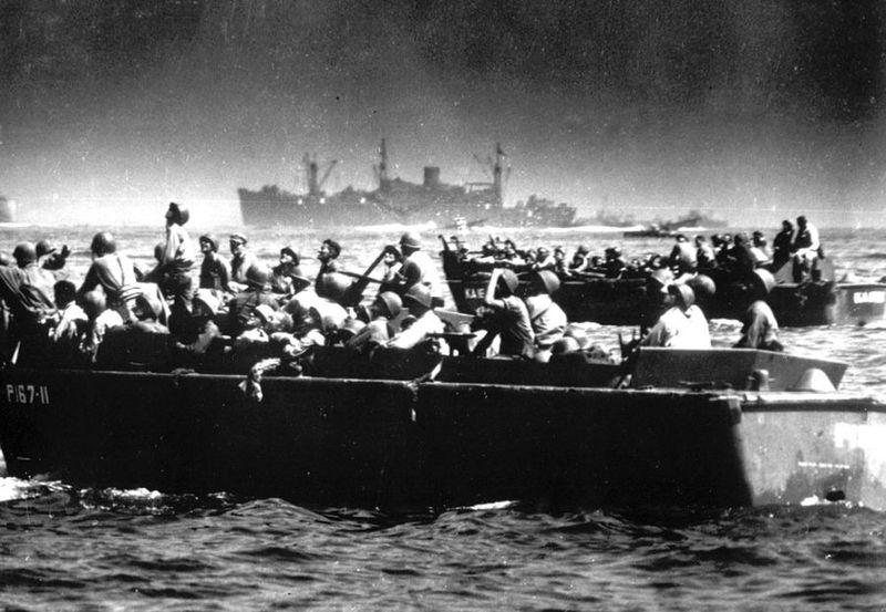 Вторая мировая - Тихоокеанский театр военных действий (45 фотографий), photo:32