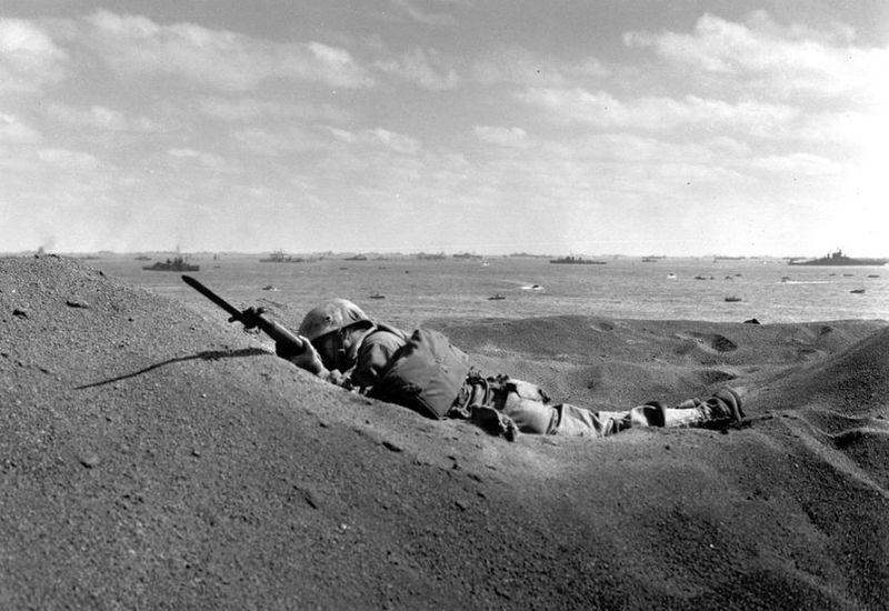 Вторая мировая - Тихоокеанский театр военных действий (45 фотографий), photo:39