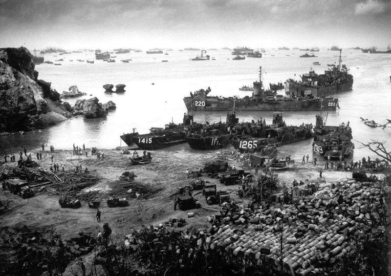 Вторая мировая - Тихоокеанский театр военных действий (45 фотографий), photo:42
