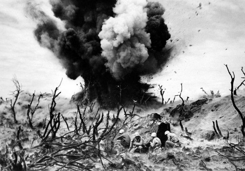 Вторая мировая - Тихоокеанский театр военных действий (45 фотографий), photo:43
