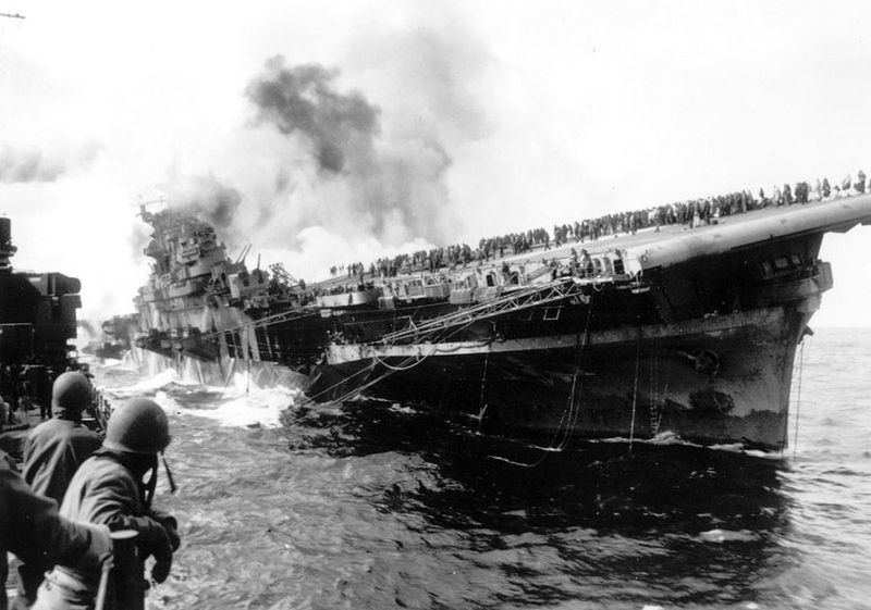 Вторая мировая - Тихоокеанский театр военных действий (45 фотографий), photo:44
