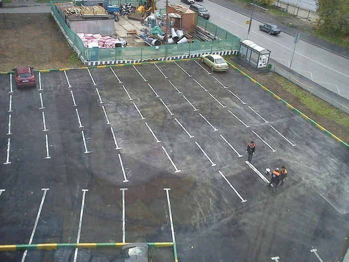 Потемкинские парковки. Часть 2 (13 фото)