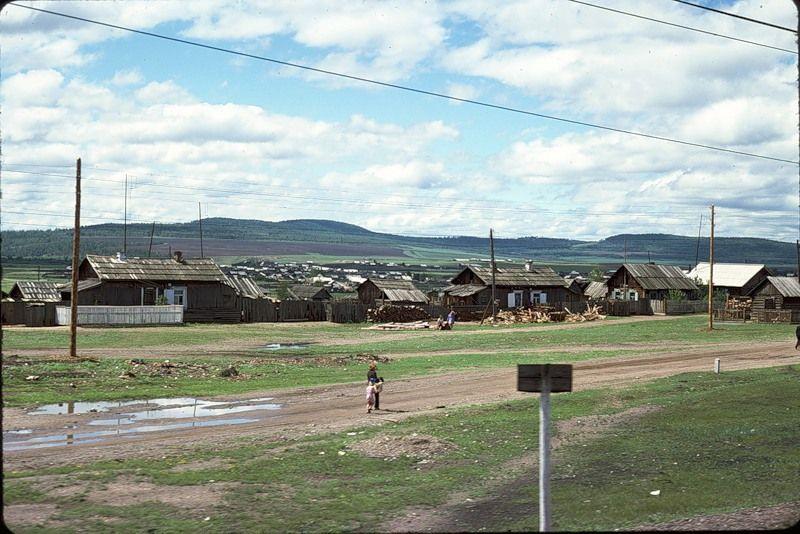 1030 СССР из окна поезда в 1975 году