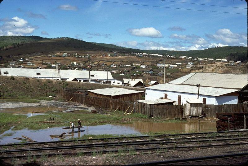 1324 СССР из окна поезда в 1975 году