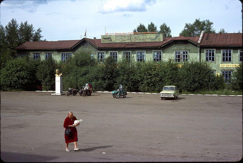 1624 СССР из окна поезда в 1975 году