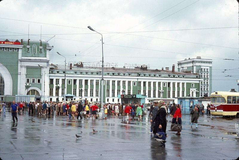 2319 СССР из окна поезда в 1975 году