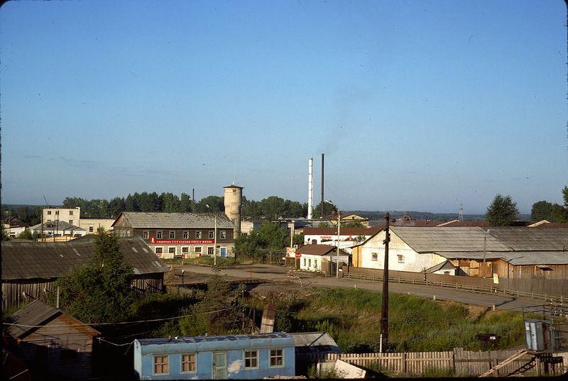 2914 СССР из окна поезда в 1975 году