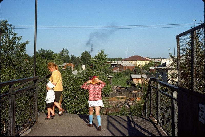 3013 СССР из окна поезда в 1975 году