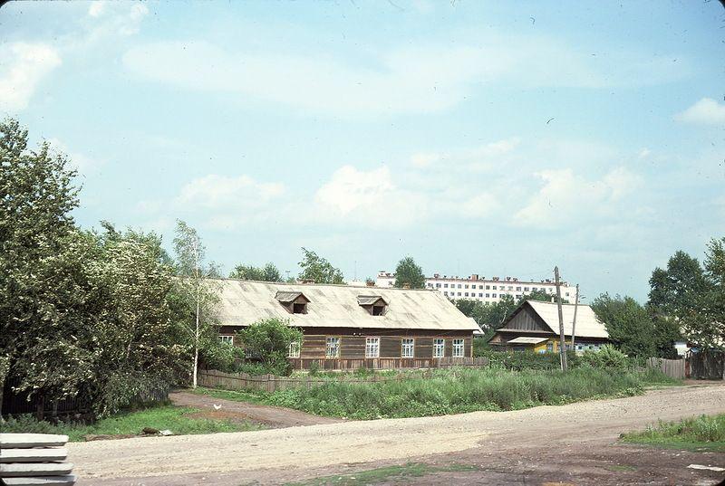 730 СССР из окна поезда в 1975 году