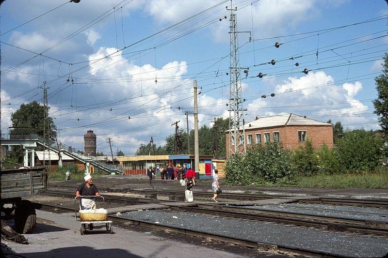 830 СССР из окна поезда в 1975 году