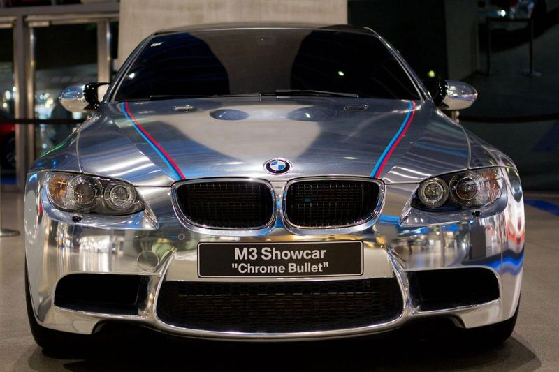 BMW M3 Coupe Chrome Bullet (9 фото)