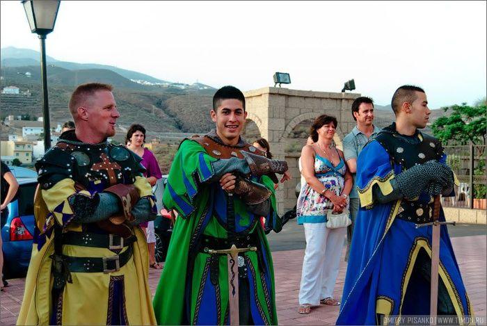 Забава для туристов Рыцарский турнир (16 фото)