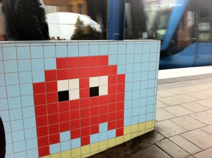 8-битное метро в Стокгольме (21 фото)